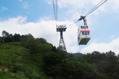 高山駅からバスで「新穂高ロープウェイ」を目指す