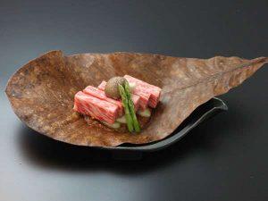 飛騨牛朴葉味噌ステーキ