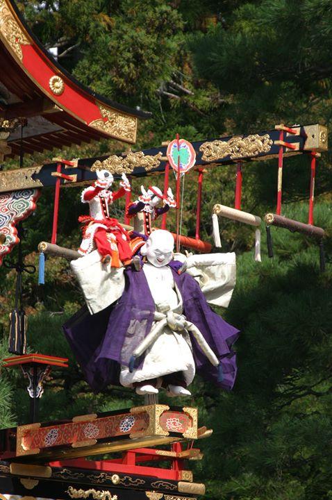"""<""""秋の高山祭(八幡祭)"""" 10月9日(日)・10日(月・宿)>"""